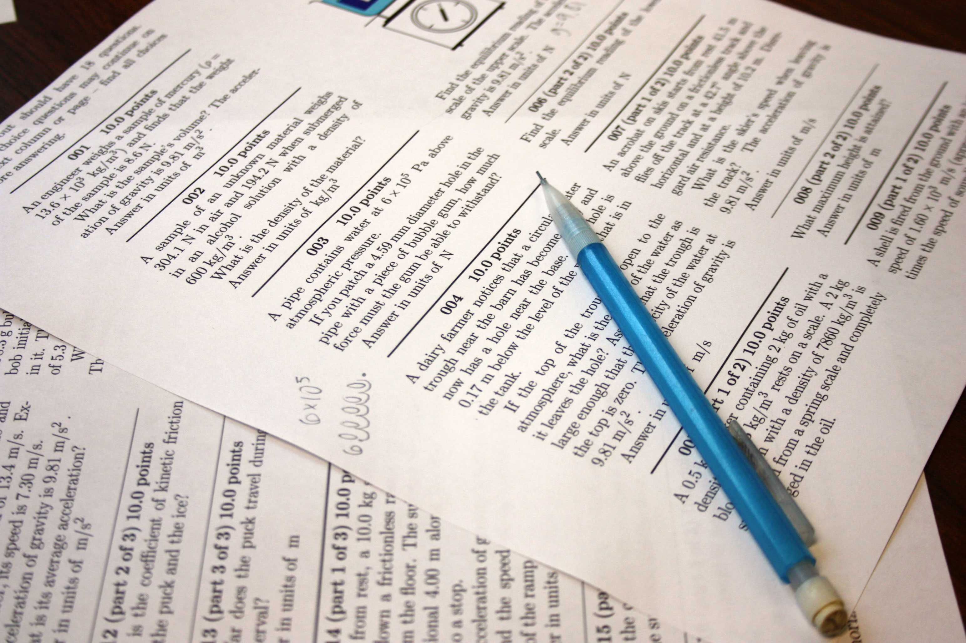 Even though some homework may be online, students can usually print it out to work on a hard copy.