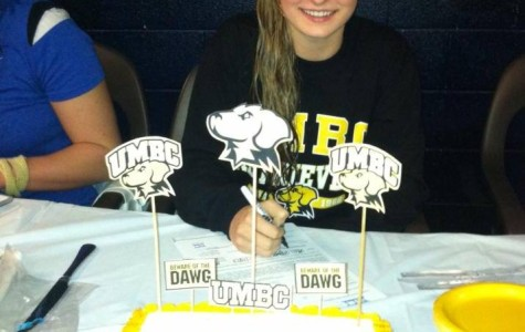 Swimmer Accepts Scholarship to UMBC
