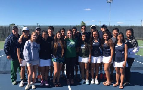 Tennis teams pull wins after heated matches