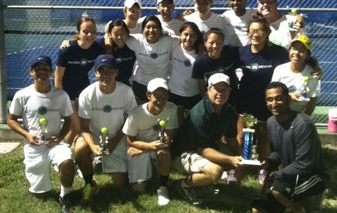 Tennis Takes 1st at Spring Preview Tourney