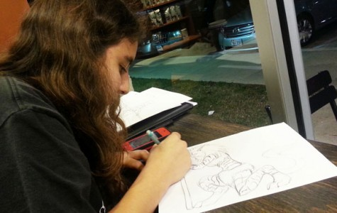 Art Provides Sophomore a Creative Outlet