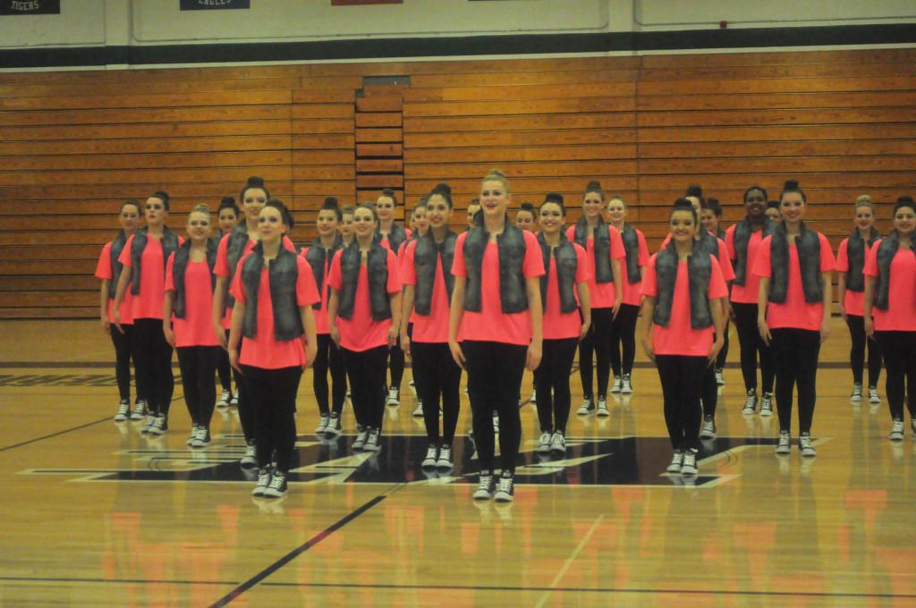 The Majestics were successful at their first competition as a  team.
