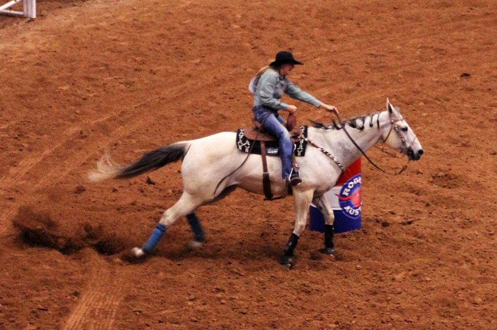 Rodeo Austin features many events such as Western Showdowns, pig races and horse shows.