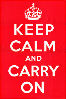 Keep Calm and Carry On is more than just a poster on the wall. Its history reveals that it was an underground campaign for the British Government to control the citizens after a mass massacre.