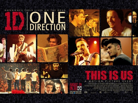 This is Us storms into the theater and captures the hearts of millions. Girls everywhere are going crazy of the new release of One Direction's This Is Us.