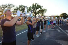 Marching Show Grows at Watermelon Social