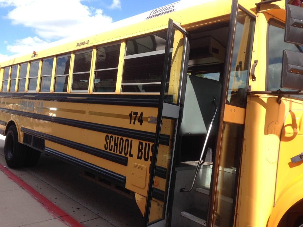 A McNeil school bus ready for students to hop in