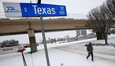 Across Texas, the weather has been colder than normal and schools have been closed twice. The situations with the cold weather and ice lead to make up days on holidays.