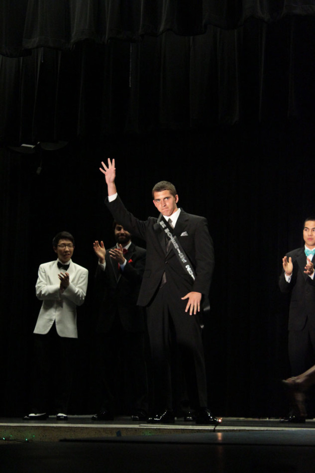 Mr. AFJROTC Ryan Sabatino (12)  Winning the title of Mr. Mav 2014