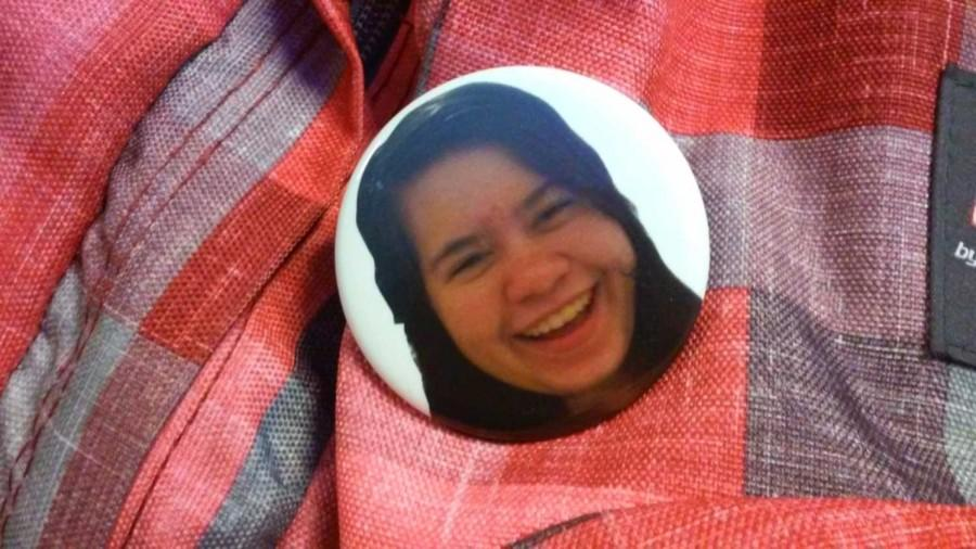 Debbie Pins are sold to bring awareness to breast cancer.  There are about 100 Debbie Pins circulating around McNeil.