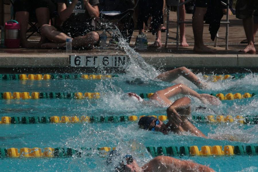 After a long season, the hard work of the Mav swim team paid off with multiple swimmers advancing to the state competition.