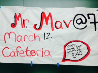 Mr. Maverick is taking place this Thursday, March 12 at 7 p.m.