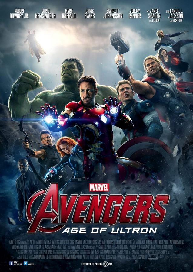 Avengers: Age of Ultron was released on May 1st.