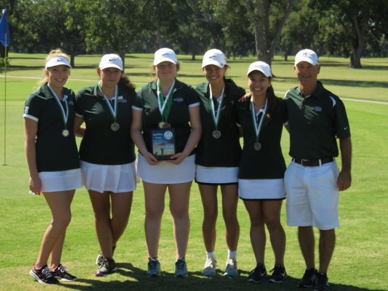 Girls' golf places 2nd in latest tournament