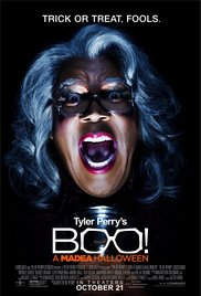 The movie poster for Tyler Perry's most recent movie features Perry as Madea.