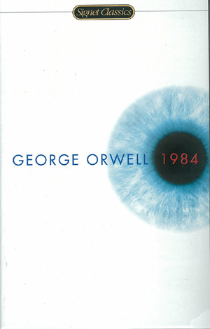 1984 rose in popularity after Trump won the election.