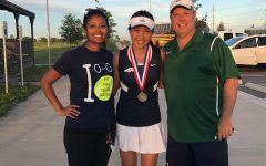 Freshman advances to tennis regionals