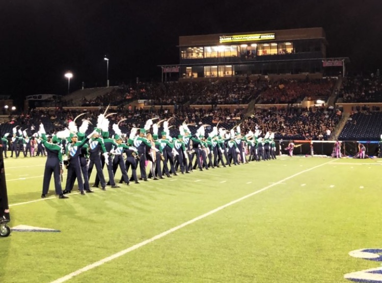 The McNeil Band competing at final in BOA