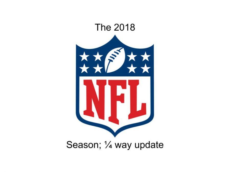 The 2018 NFL Season: 1/4 way update.
