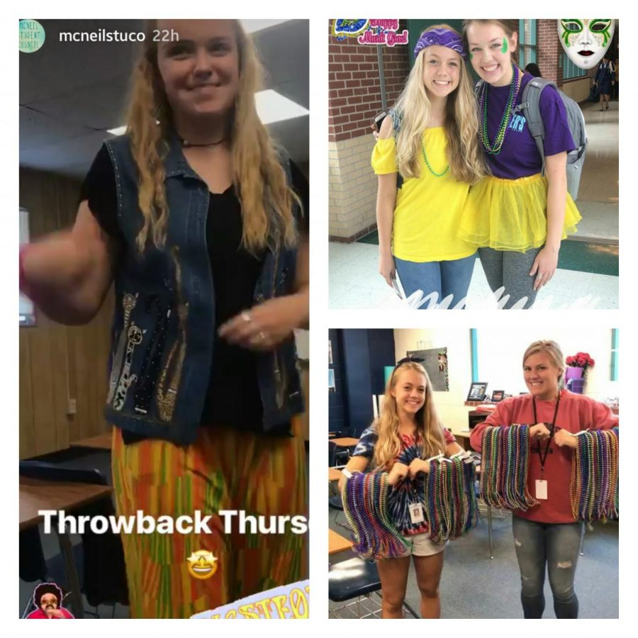 McNeil 2018 homecoming spirit week was decorated by every students beautifully.