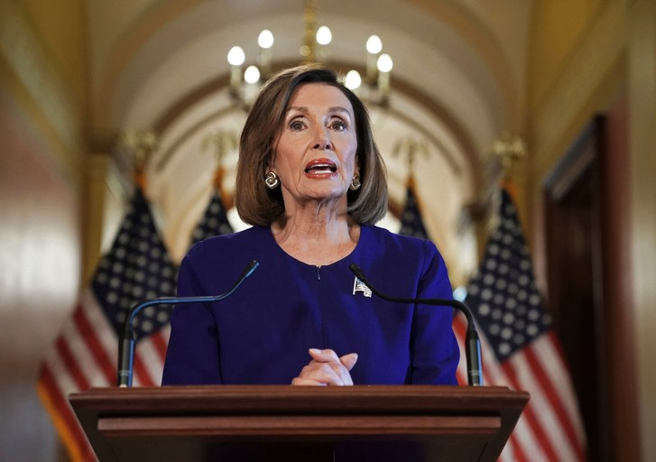 Nancy Pelosi announced impeachment proceedings on Tuesday, Sept. 24.