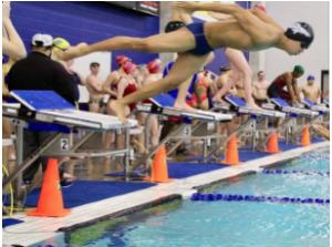 Swim team finds success at Tri-Meet