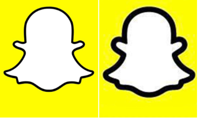 Snapchat Logo old to new
