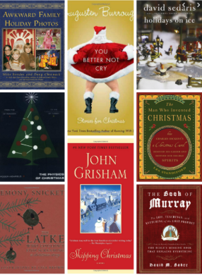 At each meeting, the members of the book club will read and discuss a book of certain theme. Their theme of this month is holidays!
