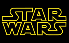 The Star Wars logo is recognizable, and carries a long legacy with it.