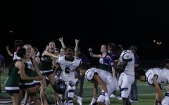Varsity Football Team Wins Against Del Valle 8/27