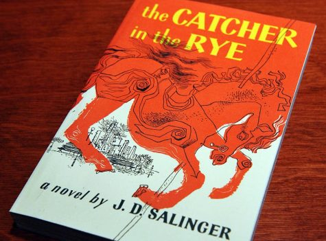 The Catcher in the Rye by J.B. Balinger is an assigned reading book for students.