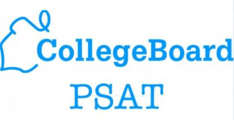 The official logo of the PSAT.